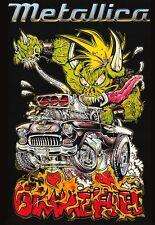 Metallica-Gimme Fuel Poster Load James Hetfield Sticker or Magnet