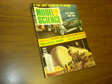 MODEL CAR & SCIENCE magazine NOVEMBER 1967 slot cars Monogram kits matchbox
