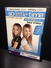 Mary-Kate  Ashley Olsen - So Little Time Vol. 2: Boy Crazy (DVD, 2002) Open Good