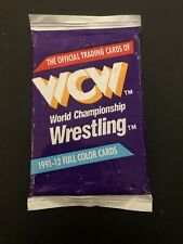 Pack 1991 IMPEL WCW WRESTLING CARDS Sealed Rare WWF