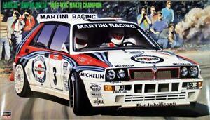 Hasegawa 1/24 Lancia Super Delta 1992 WRC Makes Champion  #1999900