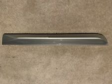 Audi B6 B7 S4 Genuine OEM Passenger Rear Lower Door Blade Molding Silver A4