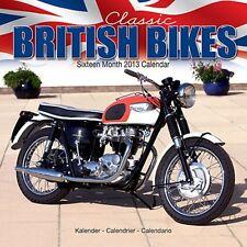 Classic British Bikes Calendar 2013 Sealed Triumph BSA Norton Vincent
