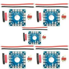 5Pcs RC Multi Rotor Quadcopter ESC Power Distribution Connection Board W/ T Plug