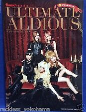 ULTIMATE ALDIOUS Photo Book Burrn Magazine Japanese Female Hard Rock Band NEW