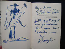 DARRYL F ZANUCK Bio SIGNED & INSCRIBED by ZANUCK to Artist SALVADOR DALI, 1st Ed