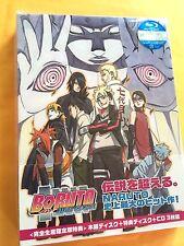 BORUTO NARUTO THE MOVIE Limited Edition 2 Blu-ray+CD Bonus Combo Pack Japan F/S