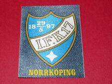 PANINI FOOTBALL 1978 ECUSSON JEAN DENIM IFK NORRKÖPING SVERIGE SUEDE