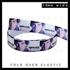 """Sherlock Fold Over Elastic FOE 5//8/"""" 16mm per metre"""