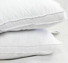 NEW Exquisite Hotel Luxury Firm Gel Fiber Filled Microfiber Pillow Set of 2 King