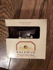 Baldwin Hardware Premium Robe Hook Edgewater.