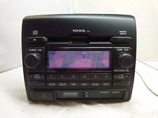 12 2012 Toyota Tacoma Satellite Radio Cd Mp3 WMA D1822 86120-04250 HX63146