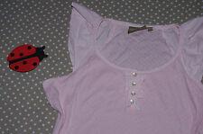 ✿❀ Haut top t-shirt coton ajouré femme ✿❀ DECONTRACT ✿❀ Taille L 42/44