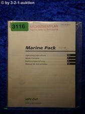 Sony Bedienungsanleitung MPK DVF Marine Pack (#3116)