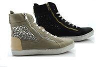 P13 scarpe donna AMARANTA shoes sneakers con i lacci 190S polacchino