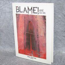 TSUTOMU NIHEI Gashu BLAME AND SO ON Art Illustration Book KO*