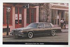 1980 BUICK ELECTRA PARK AVENUE SEDAN Dealer Postcard NOS New Vintage Car Ad