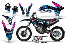 AMR Racing KTM C7 EXC/XC/SX Graphic Kit Bike Decal Wrap MX 11-13 FRENZY BLUE