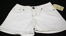 NWT UNIONBAY Junior's Cotton Jean Shorts White Size 1