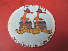 WWII  DISNEY MAGIC BROOMSNAS  JACKSONVILLE FLA   FIRE DEPT  JACKET PATCH