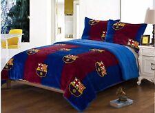 FC BARCELONA ORIGINAL BLANKET WITH SHERPA 3 PCS KING