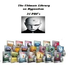 20 Self Help Hypnosis Audio MP3 + The Ultimate Library on Hypnotism over 34 pdfs