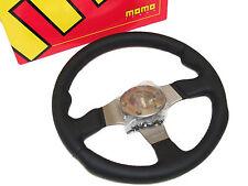 MOMO Steering Wheel - Race (320mm/Leather/Anthracite Spoke)