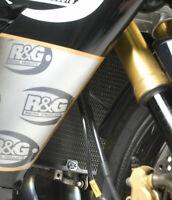 Kawasaki ZX10R 2004-2005 R&G Racing Radiator & Oil Cooler Guard RAD0130BK