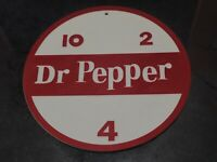 "Vintage 8.5"" Dr. Pepper 10 2 4 Sign Replica 3D Printed Advertising Soda"