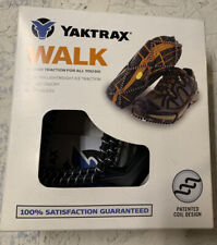 Yaktrax Walk Traction Cleats for Walking On Snow & Ice No Cleats Free Shipping