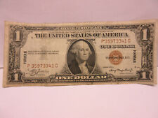 1935A $1 one dollar hawaii silver certificate circulated note