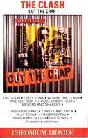 The Clash Cut The Crap 1985 Hard Classic Rock Roll Cassette Tape Pop