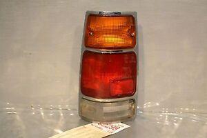 1989-1997 Isuzu Rodeo Passport amigo pickup Left oem tail light chrome 99 4E3