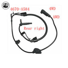 Rear Right ABS Wheel Speed Sensor for Mitsubishi 4WD AWD Outlander Lancer 07-12