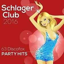 SCHLAGER CLUB 2016-63 DISCOFOX PARTY HITS 3 CD NEU