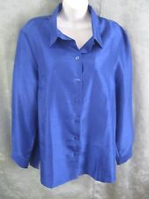Blair Shirt Size Large Blue Dressy Easy Care NWOT