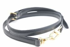 Authentic Louis Vuitton Leather Shoulder Strap Black LV 50339