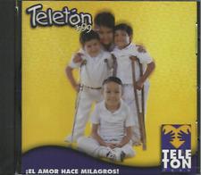 Music CD Teleton 1999 Varios El Amor Hace Milagros!