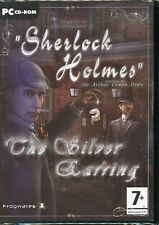 Sherlock Holmes The Silver Earring - Brand New - Sealed DVD Box - PC Adventure