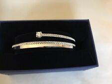 Swarovski 'Fresh'  bracelet, White, Rhodium Plated. New + Tags. 5.4x4.8 (small)