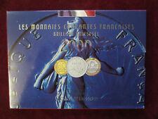 COFFRET MONNAI DE PARIS  FLEURS DE COINS 2000 FDC