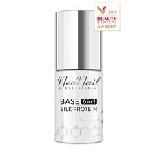 NeoNail UV Nagellack 7,2 ml - Base 6in1 Silk Protein Effektiv die beste Qualität