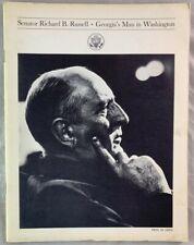 1960s Book Georgia Governor Senator Richard B Russell