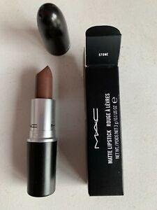 MAC Matte Lipstick - stone - new in box