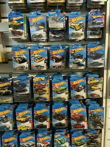 2019C Hot Wheels Diecast Cars Carded