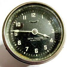 VINTAGE SETH THOMAS R-20104 - ELECTRIC CAR CLOCK (AC)