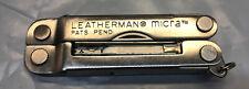 Leatherman Micra Multi Tool 7 Blade Mini Scissors Tweezers Knife Screw Drivers