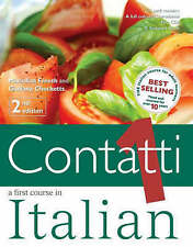 Very Good, Contatti: A First Course in Italian: Complete Pack Vol 1, Checketts,