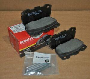 Mintex Front Brake Pads for Land Rover Defender Td5 + Fittings - SFP000260