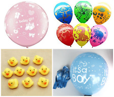 Its A Boy/Girl latex Balloons Christening Newborn Baby Party Baby Shower deco